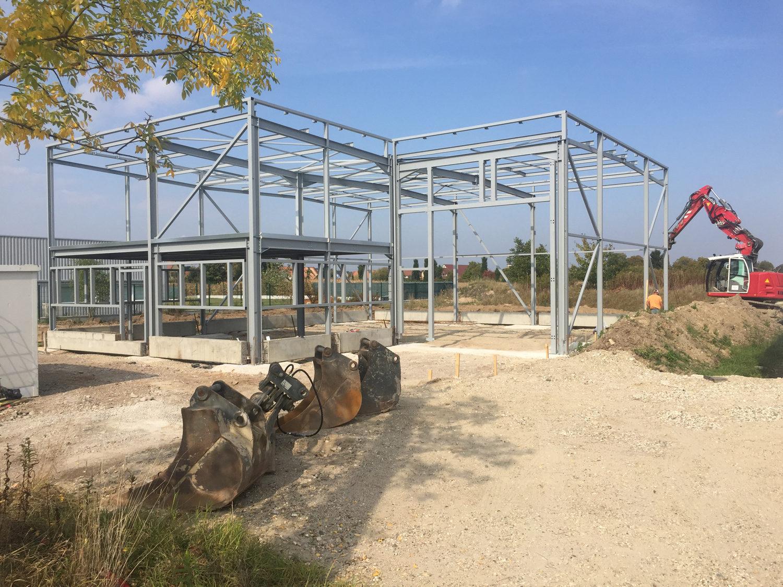 Entreprise L&A - Construction d'un bâtiment de stockage et de bureaux