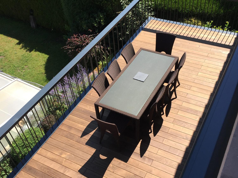 Entreprise L&A - Création d'une terrasse