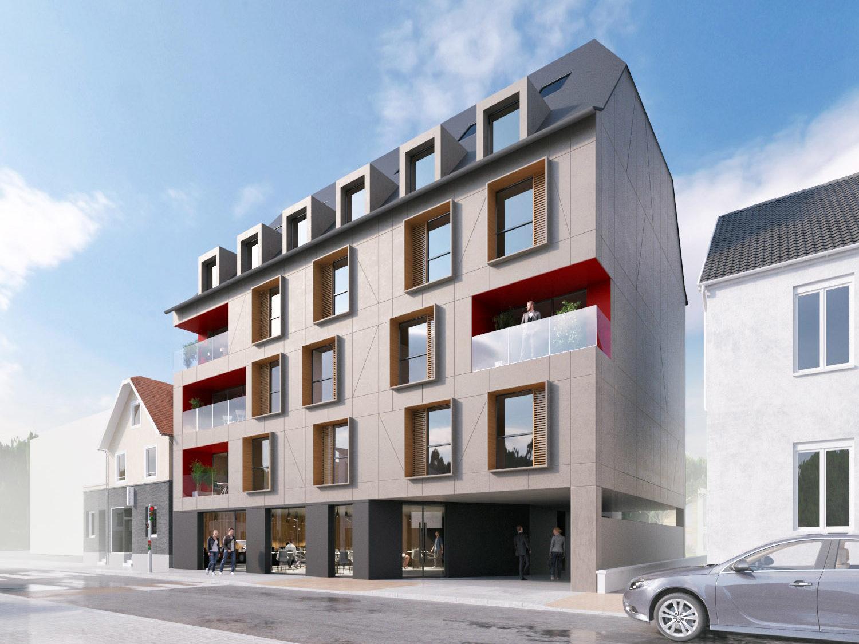 Entreprise L&A - Construction de 11 logements et deux commerces