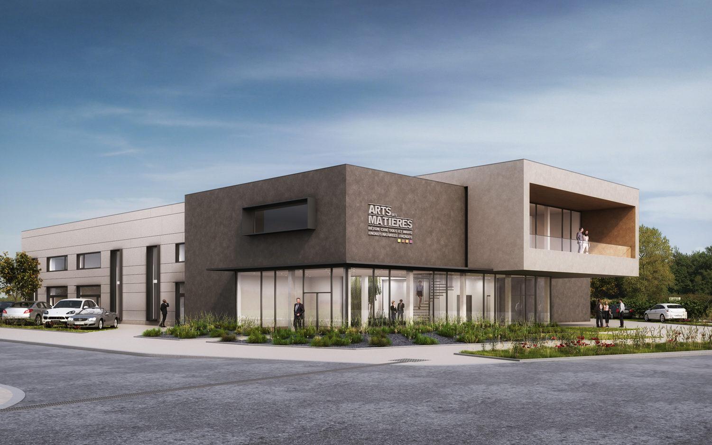 Entreprise L&A - Construction d'un showroom, d'atelier et de bureaux